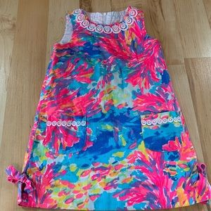 LILY PULITZER GIRLS CLASSIC SHIFT DRESS (SIZE 5)